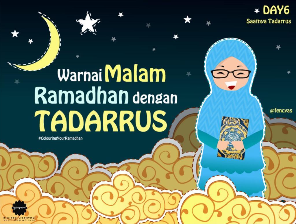 Top Kartun Muslimah Menyambut Ramadhan